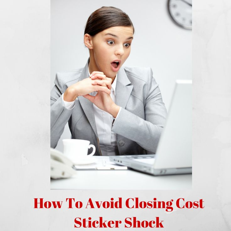 How to Avoid Closing Cost Sticker Shock: http://cincinkyrealestate.com/how-to-avoid-closing-cost-sticker-shock/