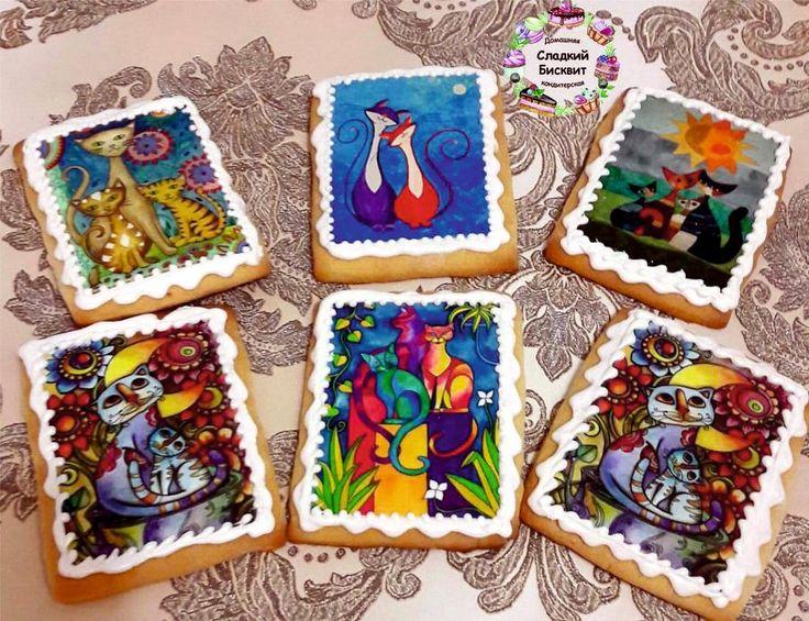 Подарочное печенье. - Cake by Anastasiya