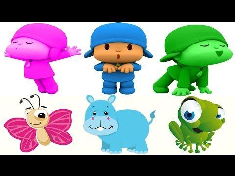 Aprende Los Colores y Animales con Pocoyo en Español ★ Videos Los Animal...