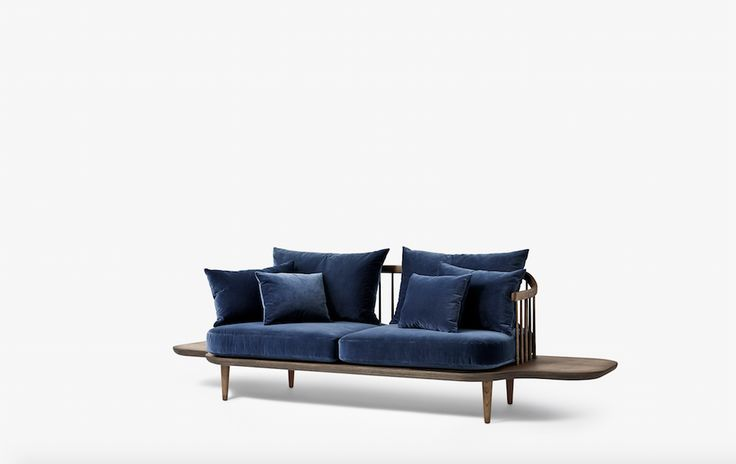 Fly Lounge Sofa SC3 designed by Space Copenhagen for &tradition.