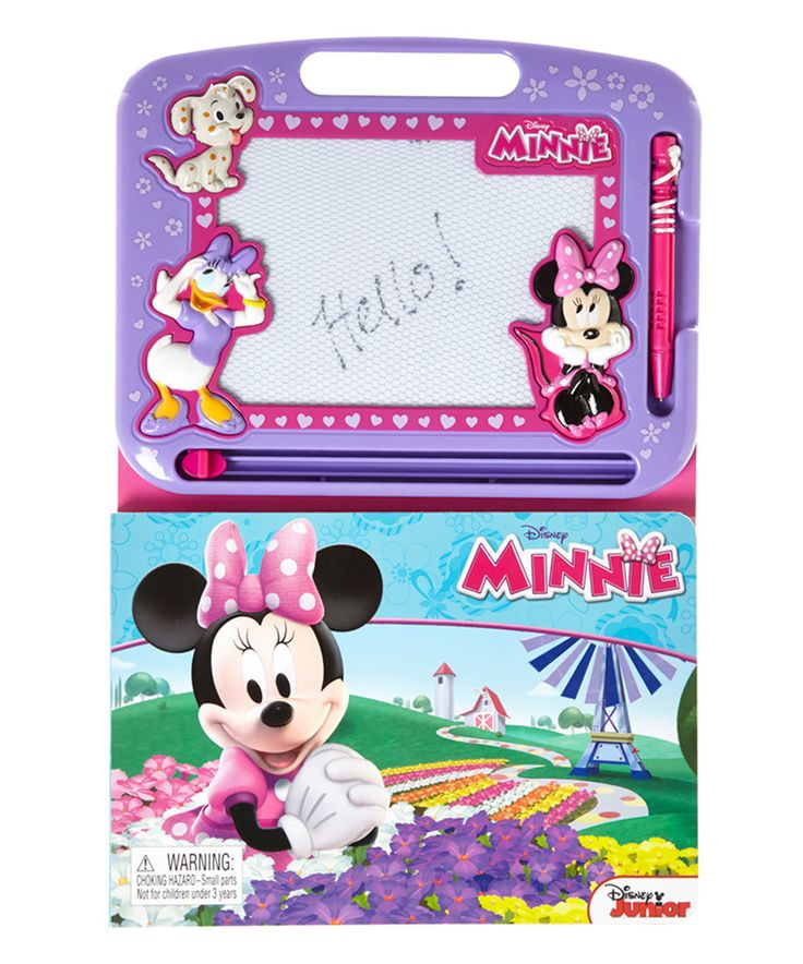 Look what I found on #zulily! Minnie Mouse Magnetic Drawing Board Book by Minnie's Bow-Tique #zulilyfinds