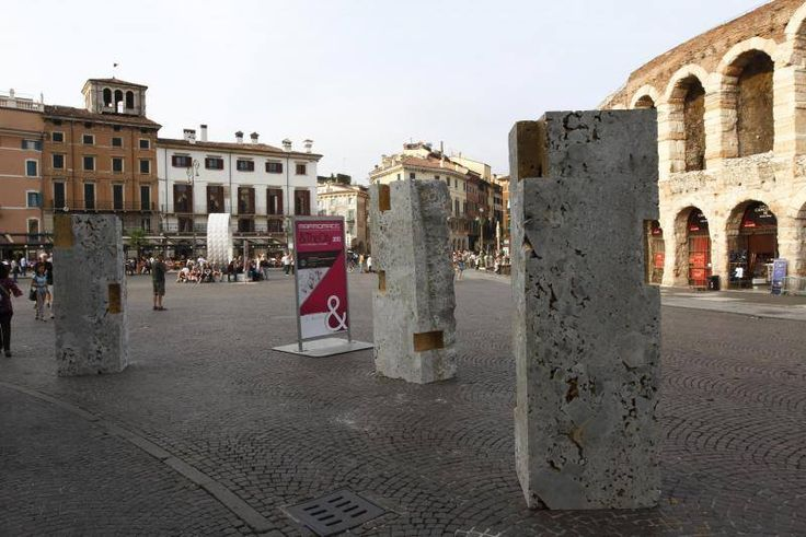 Reuse for a future city, By Marini Marmi & PBEB Paolo Belloni Architetto - Stone: Ceppo di Gré