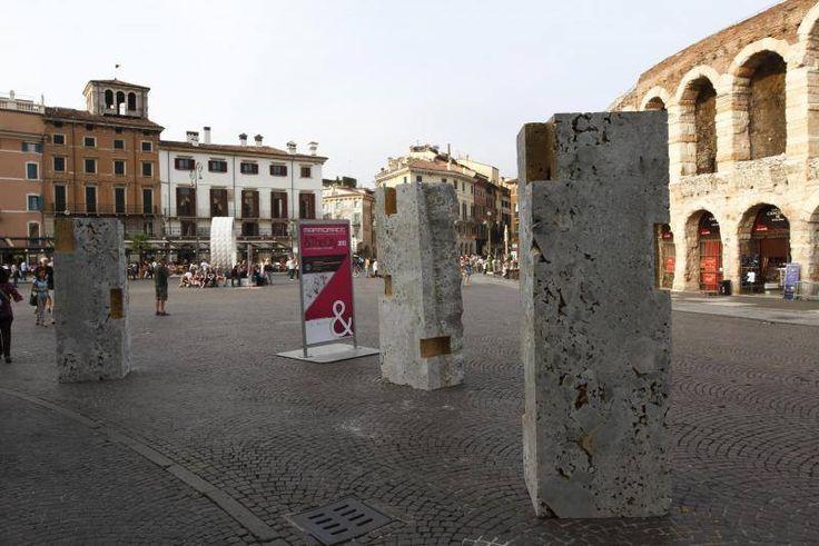 Reuse for a future city, By Marini Marmi & PBEB Paolo Belloni Architetto - Stone: Ceppo di Gré