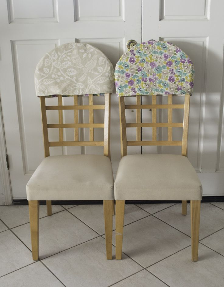 Padded Chair Back Covers