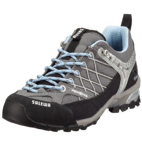 Salewa Women's Firetail Approach Shoe Salewa. $103.16. Comfortable and cool enough for daily use. Microfiber armored mesh. Extended climbing lacing. Mesh lining. Eva midsole dampened with a pu heel shock absorber. [upper] armored mesh, aramidic, rubber rand; [lini. Vibram sole
