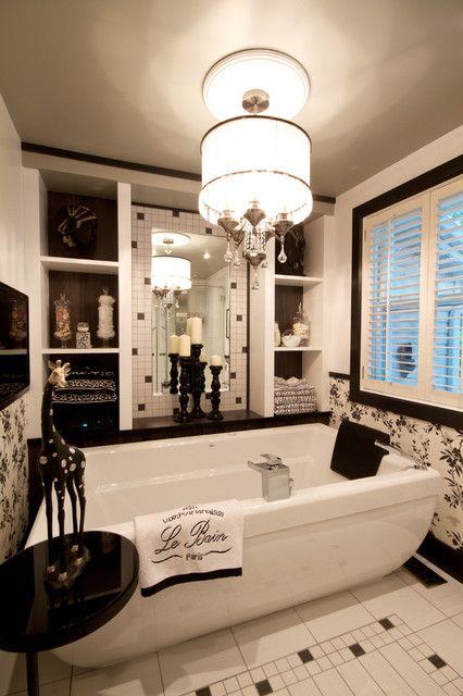 ретро стиль ванная