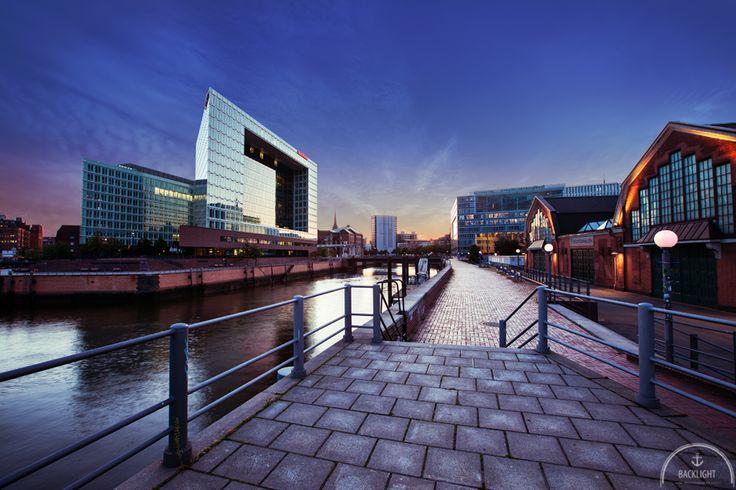 """Hafen City Hamburg """"Der Spiegel"""". Mehr Bilder unter: http://www.backlightphotography.de/fotospots-in-hamburg/"""