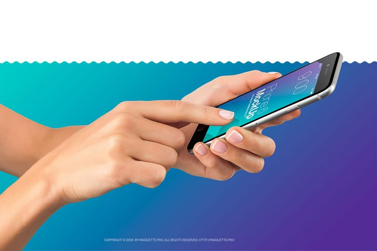 Female Hands with Cell-phone PSD Mockup on Behance