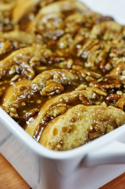The Kitchen is My Playground: Overnight Praline French Toast { & PAM Baking Kit Give-Away!}