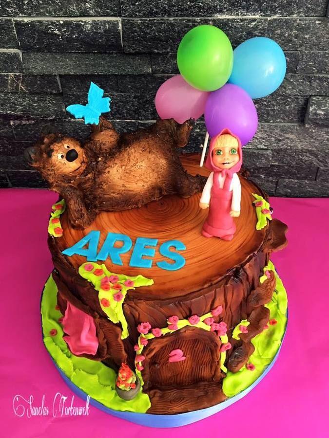Mascha und der Bär Torte Masha Cake
