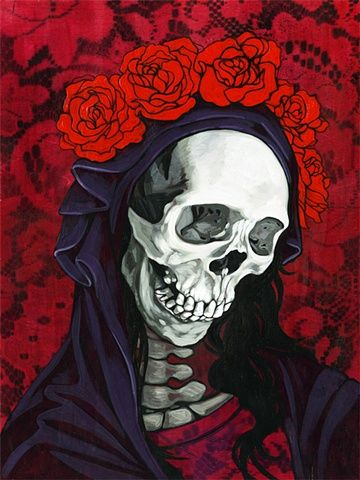 Santa Muerte by Briana Bainbridge