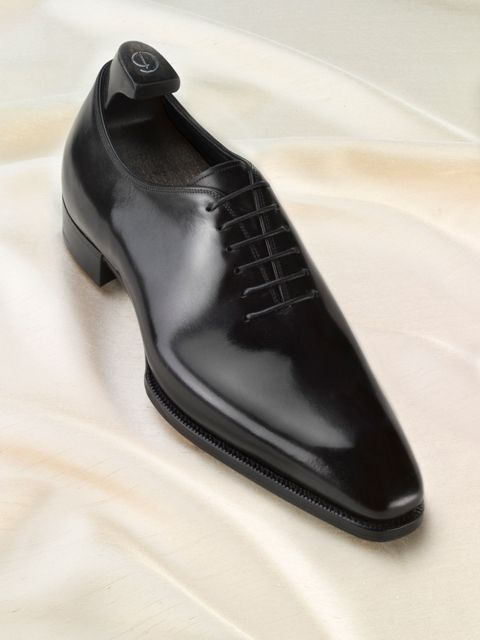 The Shoe Snob: The Only Dress Shoe Ever Really Needed - The Black Wholecut - Nasty!!!