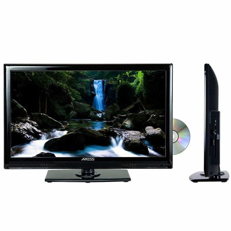 Axess 24 LED TV with Built in DVD Player AC/DC 12V Car Cord HDMI USB Remote