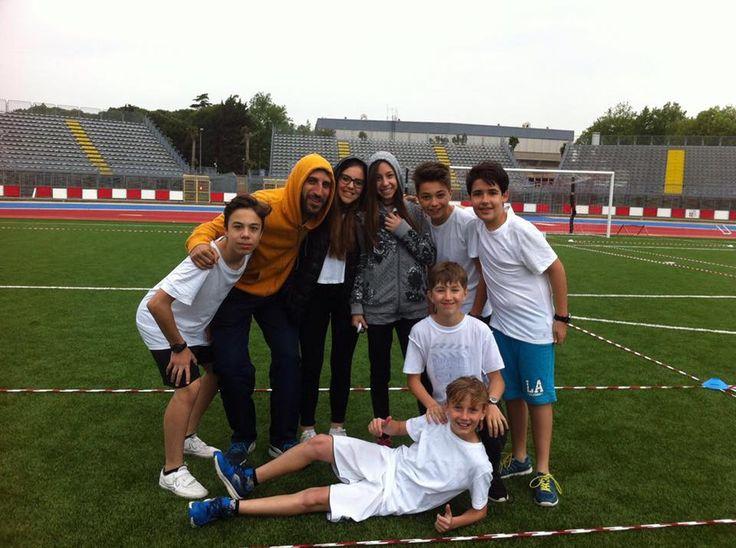 """19 maggio 2016 torneo finale del progetto """"ultimate frisbee"""" presso stadio """"R.Neri"""" di Rimini"""