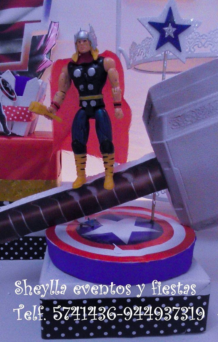 Centro de mesa Avengers, Thor