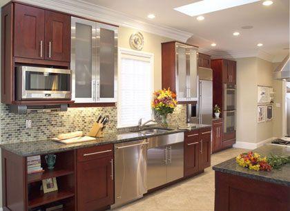 Modern Cherry Wood Kitchen Cabinets the 25+ best cherry wood kitchens ideas on pinterest   cherry wood