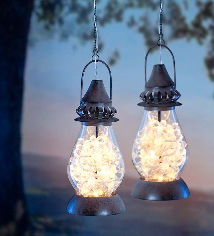 outdoor hanging solar lights