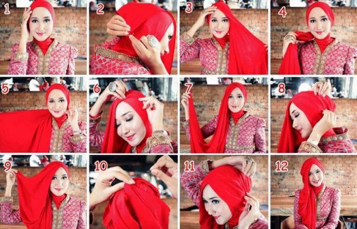 2 Hijab Tutorial Dian Pelangi Simple dan Modern