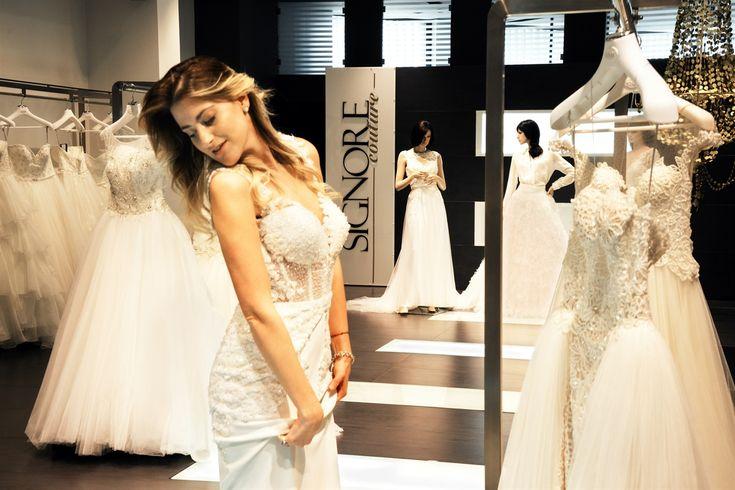 L'ex concorrente di Amici 8, Martina Stavolo, ha scelto il suo  #abitodasposa per il #matrimonio. Un modello di Atelier Signore della collezione Seduction firmata Valeria Marini.