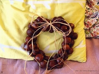 chestnut wreath