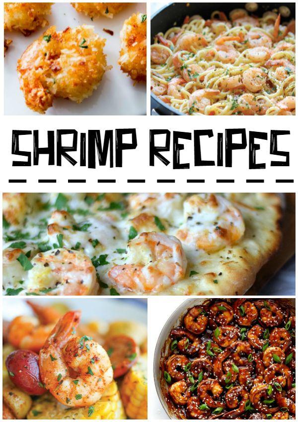 Krevety   různé recepty   en