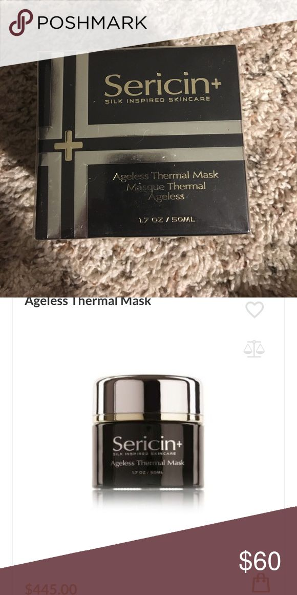 🎀 Sericin Thermal mask 🎀 📌size- 50ml 📌Condition-  ew in the box!  📌The Sericin+ Age-Defying Thermal Mask is formulated to assist in minimizing visible signs of premature aging such as lines and wrinkles. 📌Can purchase as a set with the Sericin ageless serum and cream- leave a comment for more information.  💕Fell free to ASK questions   💗OFFERS are always welcome!  💖BUNDLE item(s) to get personal discount! Other