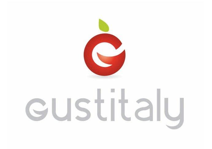 logo design www.gustitaly.com
