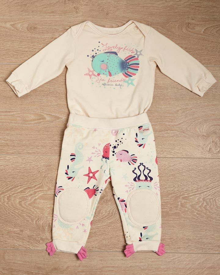 Shirt + Pants for baby girl #FashionKids #ABCEarlyLearning #OFFCORSS >> http://www.offcorss.com/newborn