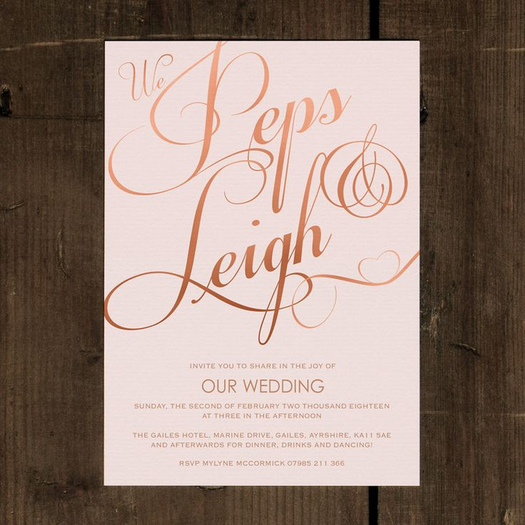 51 best Our Collection of Wedding Invitations images on Pinterest ...