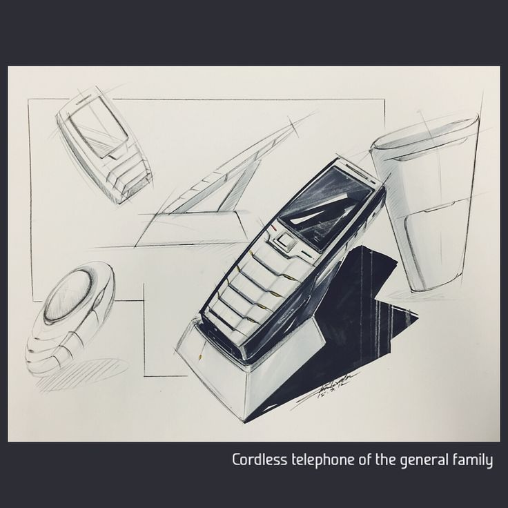 Cordless telephone of the general family.