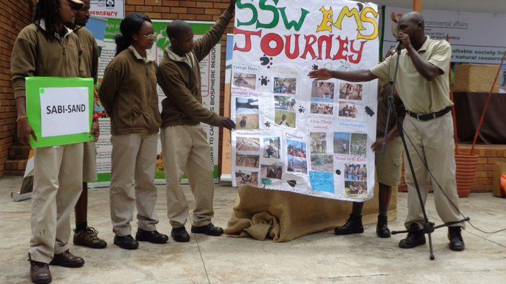 ENVIRONMENTAL MONITORS DAY - 2 Dec 2013 - The Sabi Sands Environmental Monitors showcase their Poster