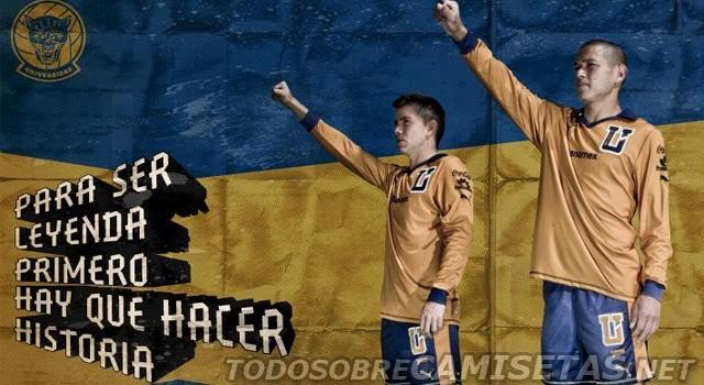 Todo Sobre Camisetas: Jersey Conmemorativo Puma de Pumas UNAM (50 años en Primera División)