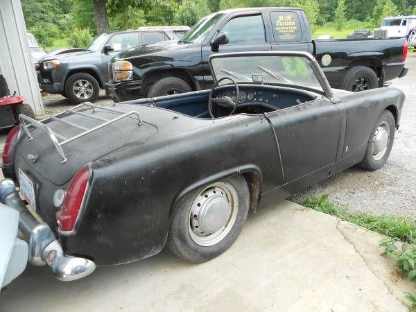 Cars For Sale Craigslist Alabama: 1963 Austin Healey Sprite Convertible