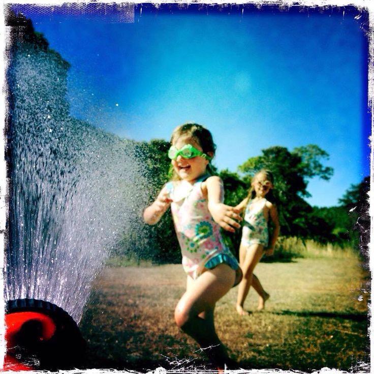 Winner - Best Children. Cooling off by Amanda.
