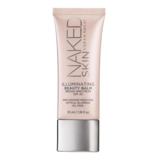 $34, urbandecay.com Urban Decay's illuminating cream gradually gets rid of wrinkles and red spots by minimizing pores and lifting the skin. Infused with SPF 29, it's a mend-all makeup that goes beyond beauty by providing protection against harmful UV rays and adding much-needed moisture.  More: What's the Difference Between BB and CC Cream?  - BestProducts.com