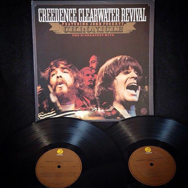 Creedende Clearwater Revival - Chronicle, The 20 Greatest Hits1976, CANADA, Fantasy CCR-2 Disco Doble, Gatefold, contiene los 20 grandes éxitos de Creedence, prensado en Canadá, gran sonido.