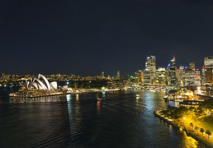 sydney harbour skyline in australia Visit us on http://www.campbelltowndentalcare.com.au