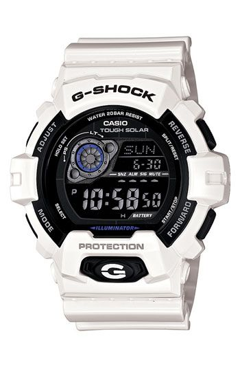 Another good gift for my boyfriend. Casio 'G-Shock X-Large - Solar' Digital Watch available at #Nordstrom