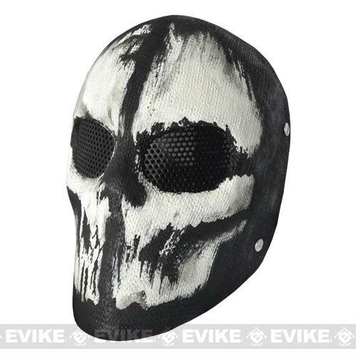 Evike - Fiberglass Wire Mesh CoD Ghost Mask Charlie