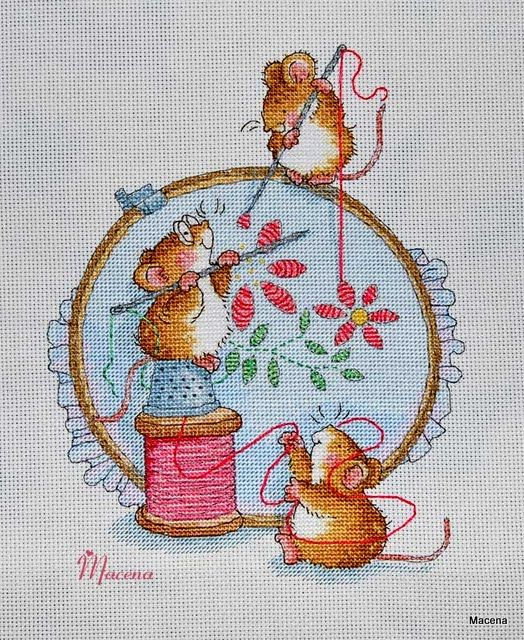 Margaret Sherry Lovers  This a lovely little project