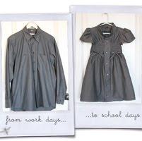 Men's Dress Shirt to Girl's DressDress Shirts, Little Girls, Dresses Tutorials, Men Shirts, Dresses Shirts, Old Shirts, Girls Dresses, Schools Dresses, Little Girl Dresses