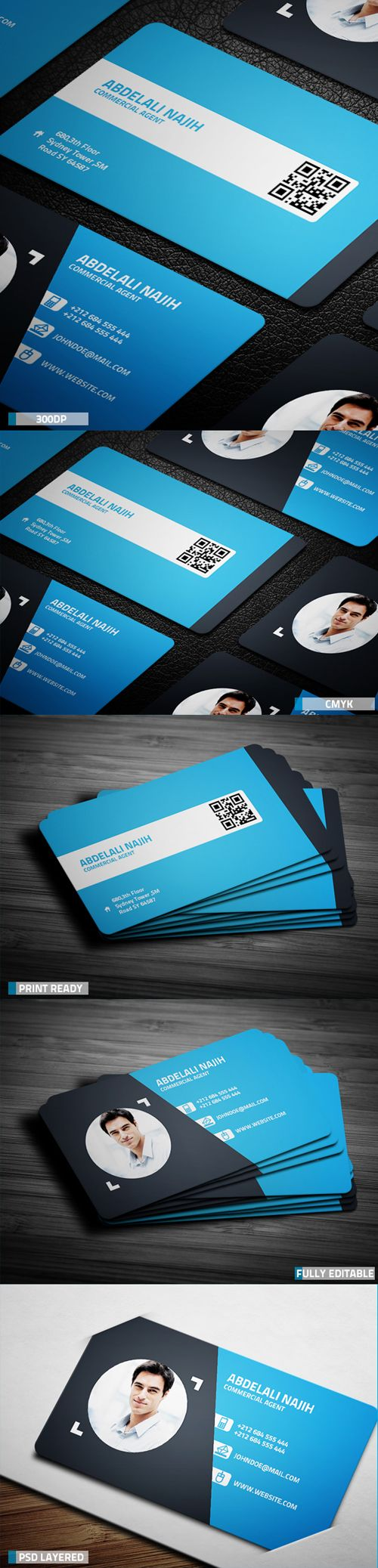 30 best Staff Card images on Pinterest | Corporate identity, Visit ...