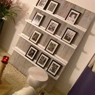Don't have to organize on wall, interchangeable, fit multiple size frames