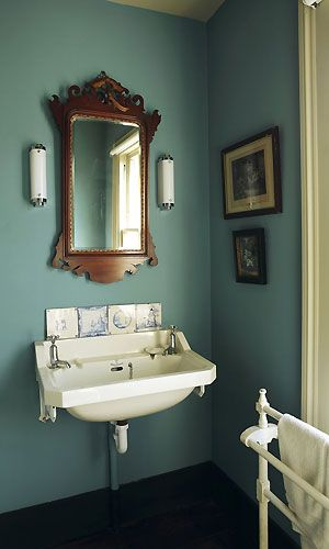Like this muted teal - might be repainting the entire house :)