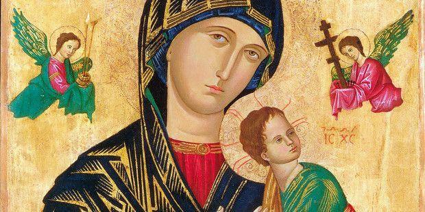 Vergine Madre, Madre mia, vieni in aiuto dei miei figli! La tua benedizione li accompagni, li custodisca e li difenda. Li incoraggi, li sostenga in ogni difficoltà e in ogni luogo. Quando escono pe…