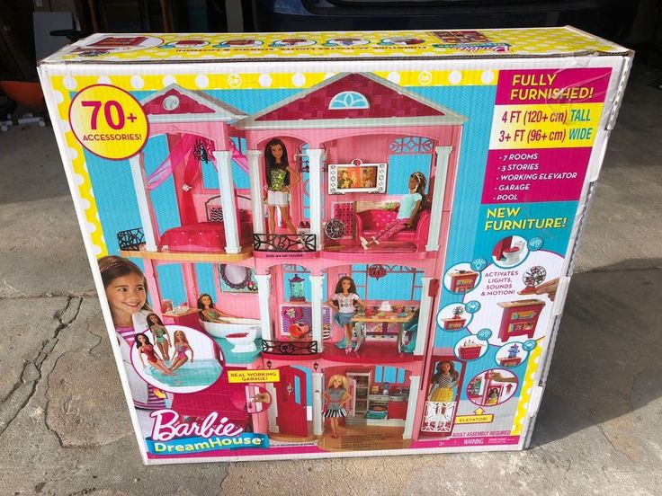 NEW! Barbie DreamHouse Playset With 70+ Accessory Pieces #Barbie