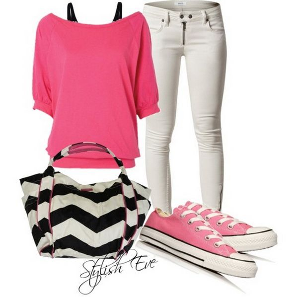 Concert Wear! Outfits with Converse Sneakers 2013 for Women by Stylish Eve