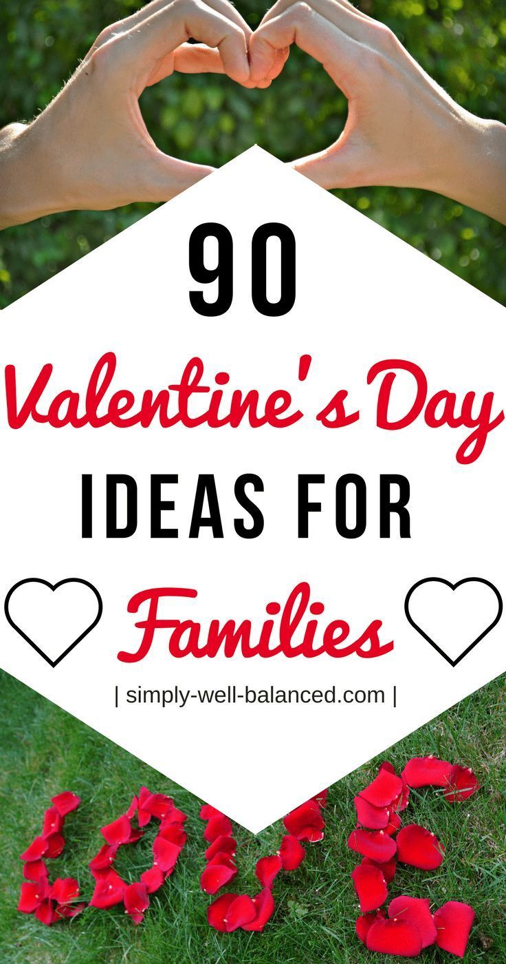 Super simple ideas to celebrate Valentine's Day all day long with your family | Valentine's Day Ideas for Families | simply-well-balanced.com | family valentine's day #valentinesday