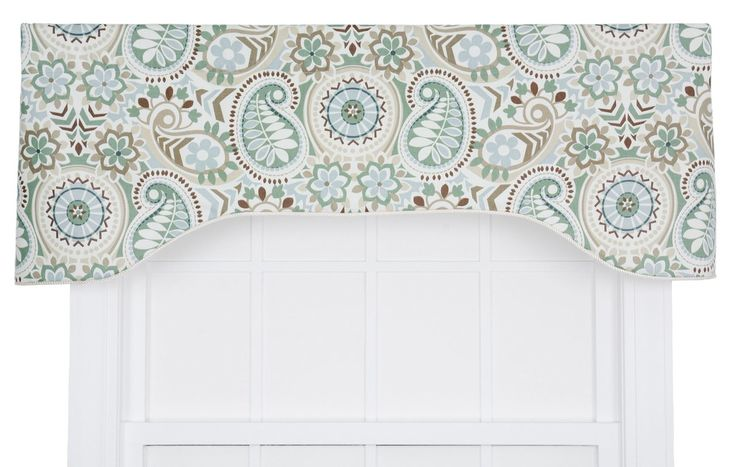 The Alcott Hill Floral Print Arched Valance Paisley print is one of the few textile patterns that never seems to fade from fashion and remains among the most distinctive patterns in design today. Enjoy the warm feel, crisp colors and updated look that the Drumahaman will bring into your home. Made with 100-percent cotton duck fabric creates a smooth draping effect, soft texture and easy maintenance. A decorative and functional bottom rope corded edge creates a very nice contrast and clean…