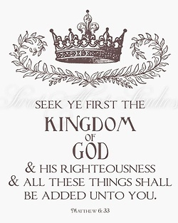 # 4 ~v To understand God's plan for his life ~ Matthew 6